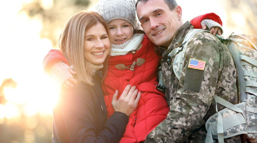 Life with a Military Veteran Family