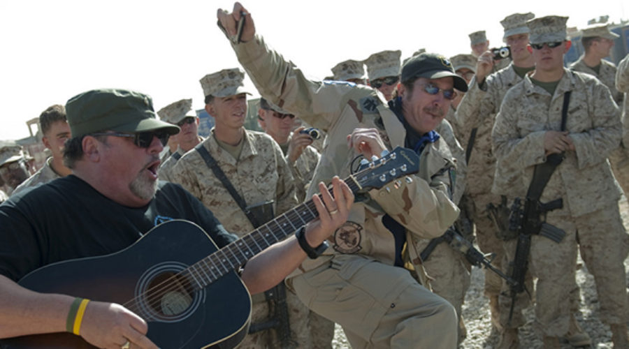 Patriotic Songs: Country Music & the Military